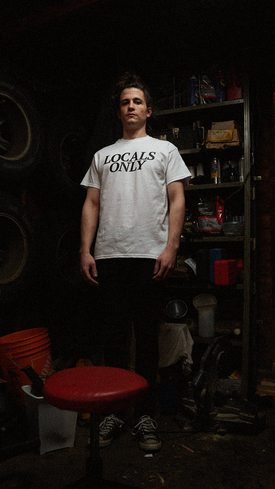 Image of Locals Only Black Logo Tee