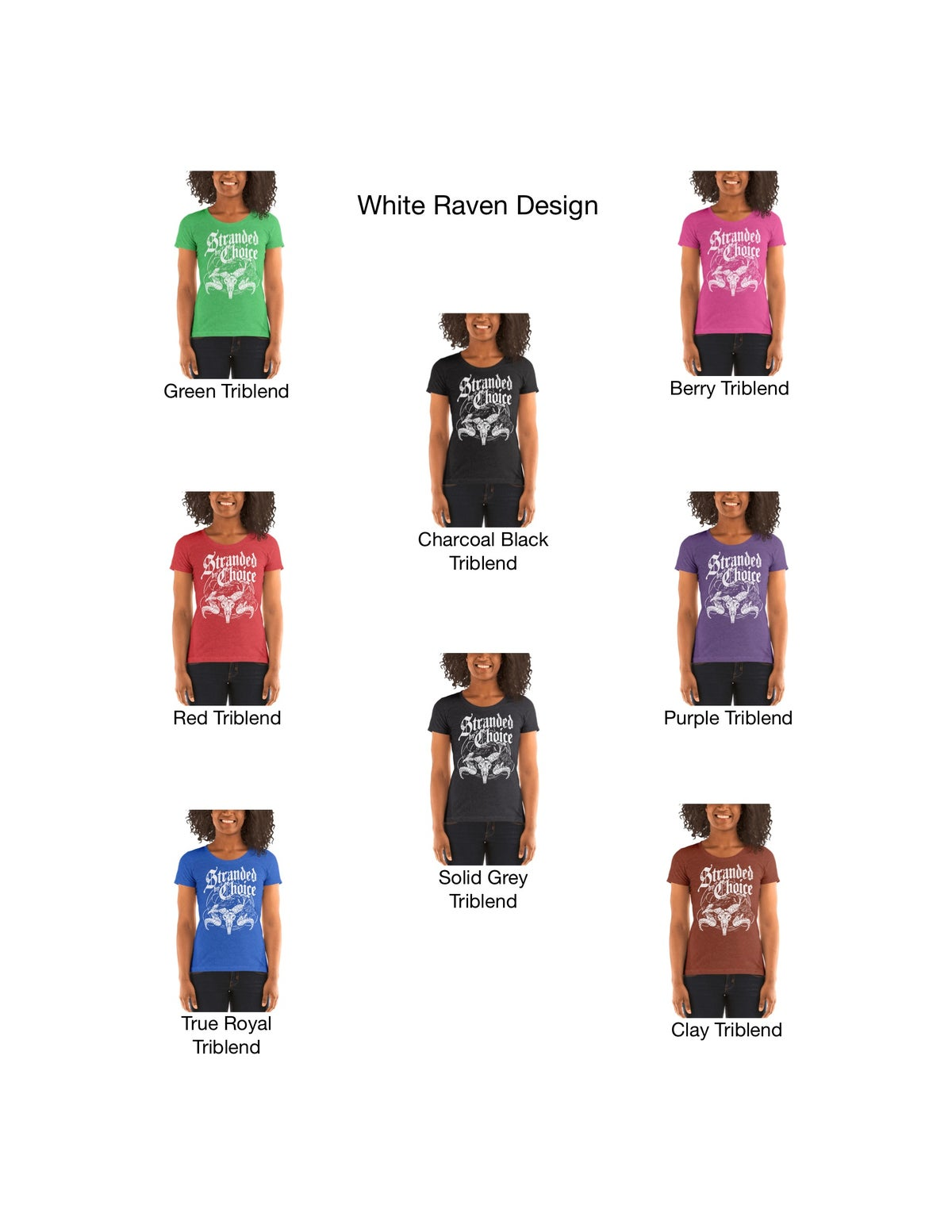 Raven Design Women's Short Sleeve Shirt