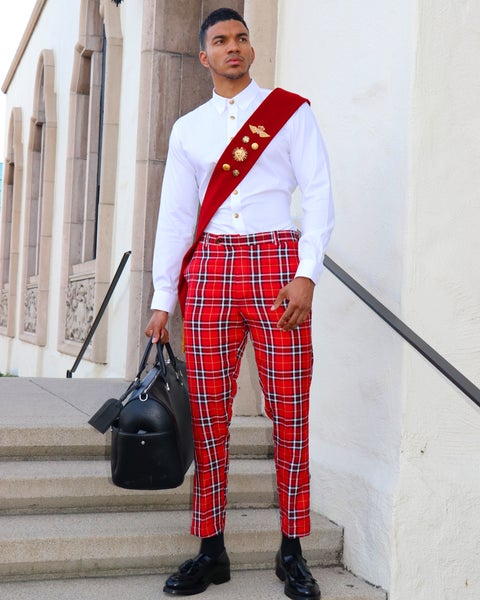 Image of The Royalty Pants - plaid 2