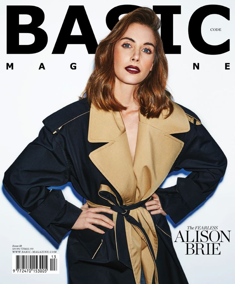 Image of BASIC  ALISON BRIE Cover || CODE Issue 13