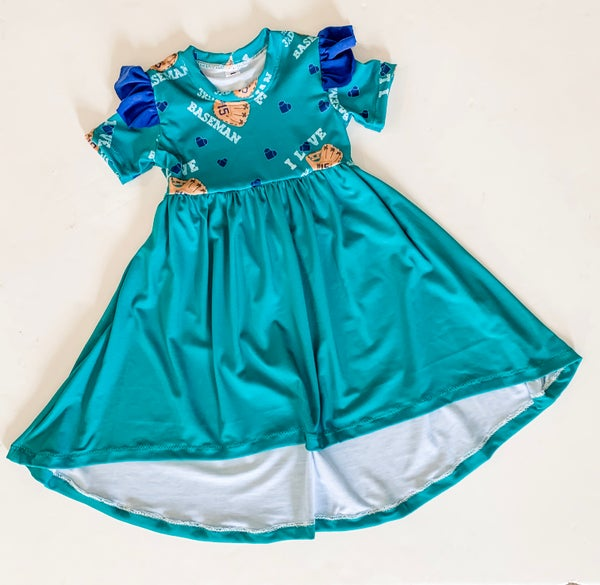 Image of Hi-Low Flutter Dress