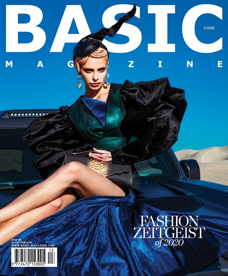 Image of BASIC  'Fashion Zeitgeist of 2020' ART Cover || CODE Issue 13