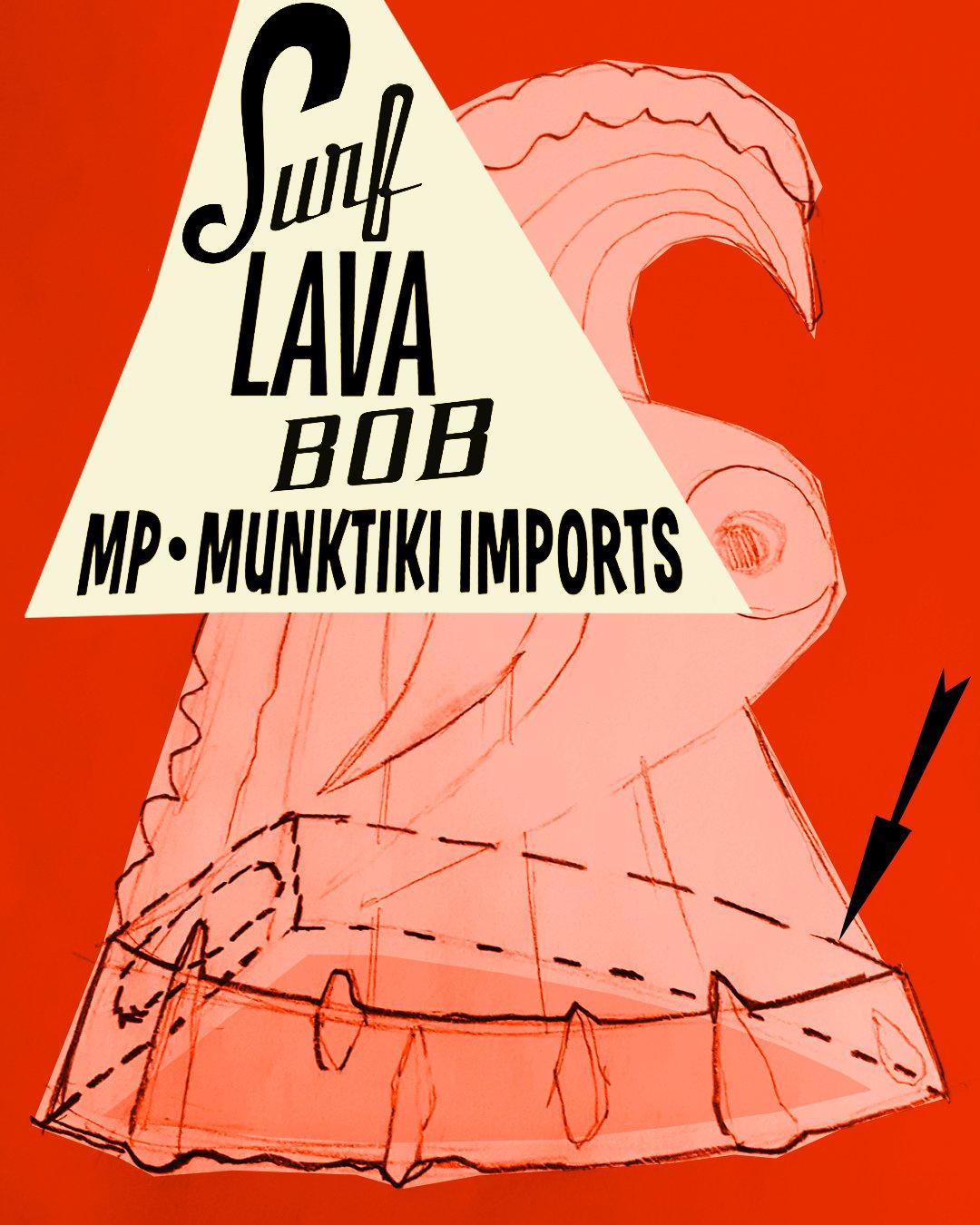 Image of SURF LAVA BOB * Deluxe Version