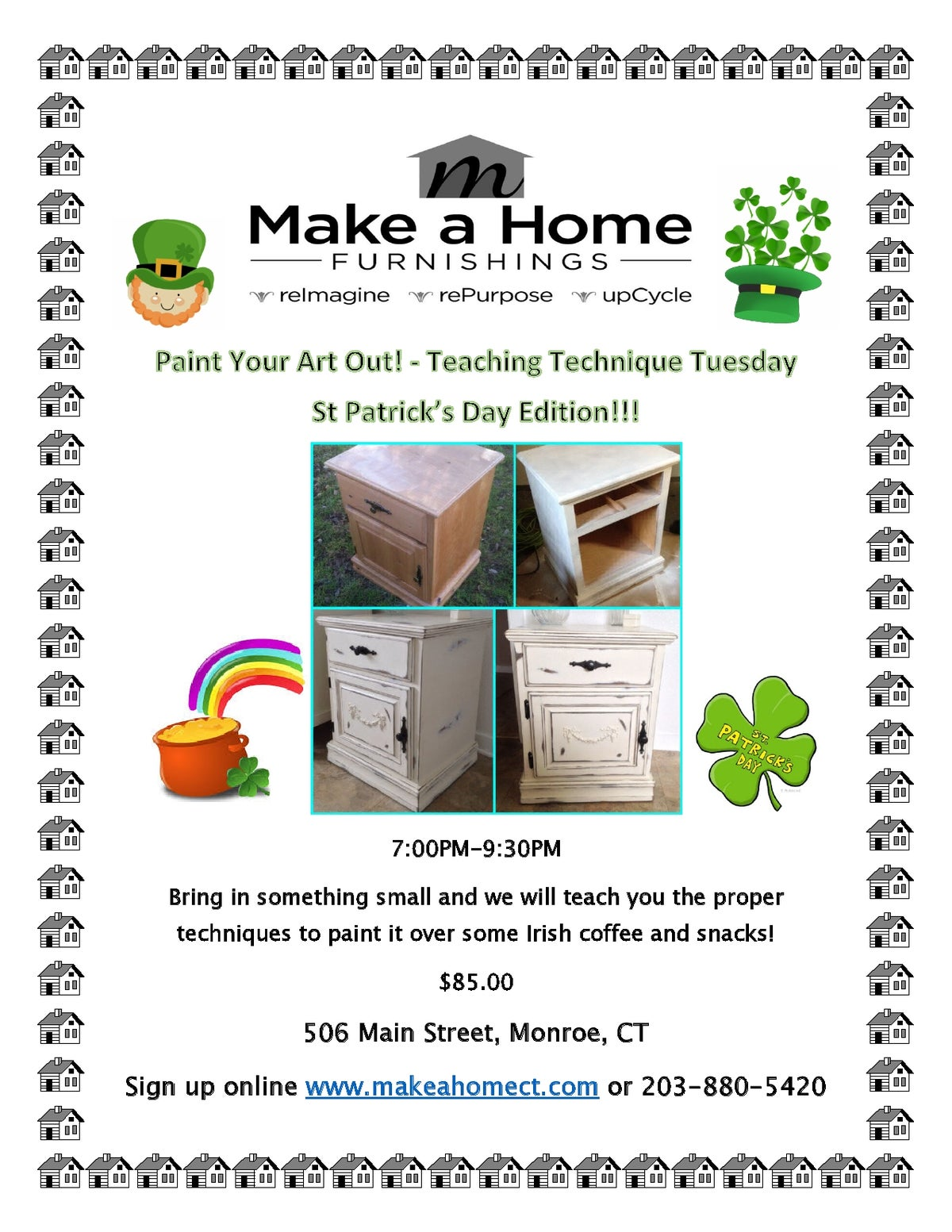 Image of Teaching Technique St Patrick's Day Edition - Tuesday, March 17th