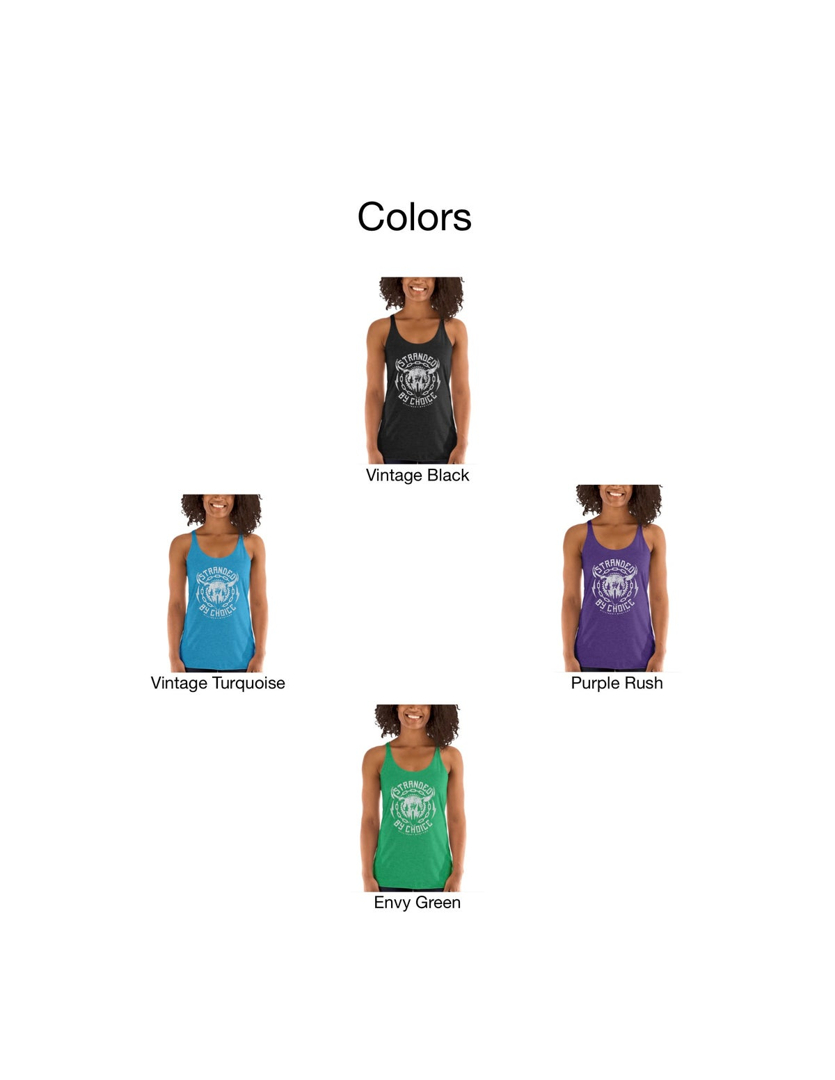 Choose Your Design Women's Racerback Tank