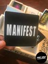 Manifest Stickers
