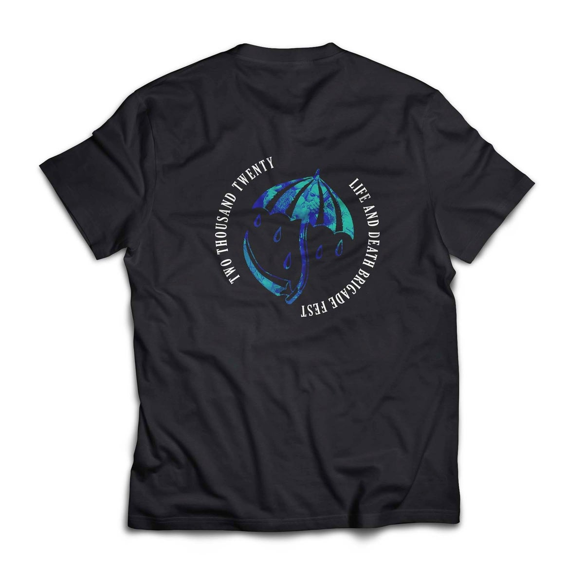 Image of LDB Fest 2020 Shirt Blue/Green Print