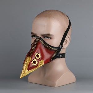 Image of My Hero Academia Overhaul Mask Doctor Kai Chisak Cosplay Crow Mask