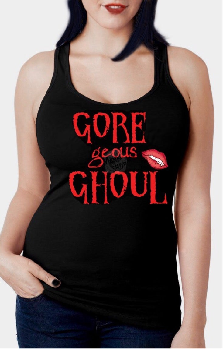 Image of Gore-Geous Ghoul Racerback Tank Top