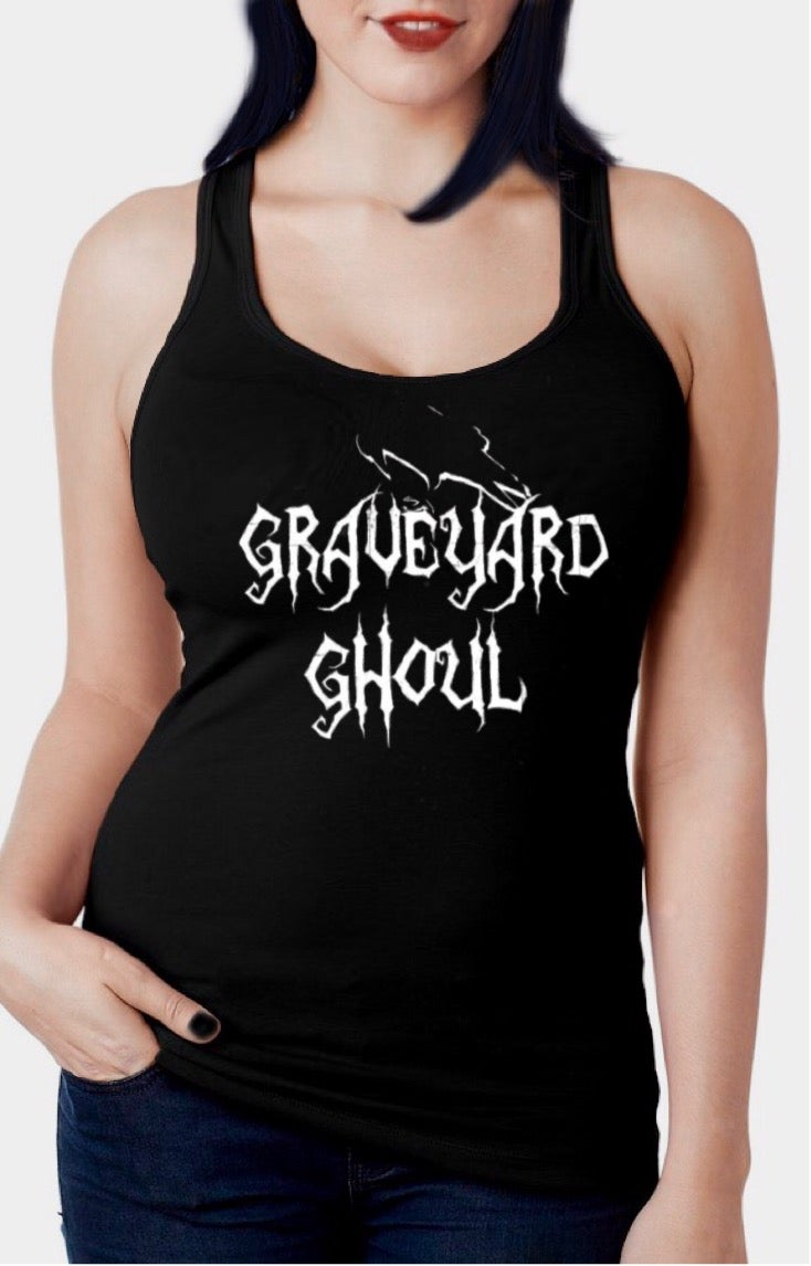 Image of Graveyard Ghoul Racerback Tank Top