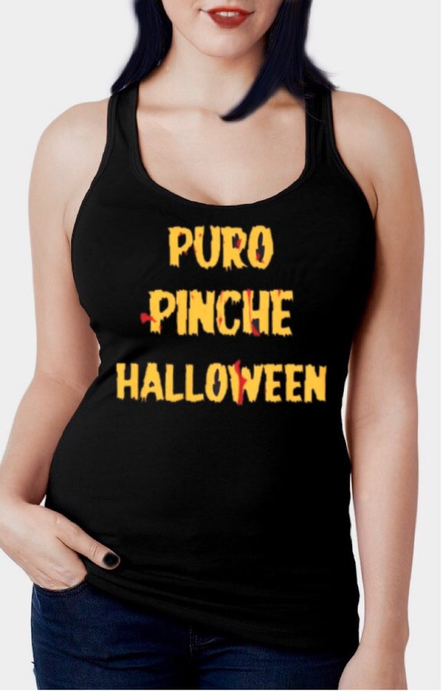 Image of Puro Halloween Racerback Tank Top
