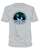 Image of 2020 Camp Big Horn CAMPER TEE SHIRT - NO SLEEVE PRINT - Order Online - PICK UP UPON ARRIVAL AT CAMP