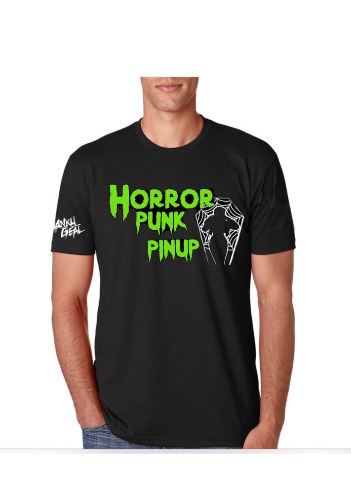 Image of Horror Punk Pinup Mens Tee