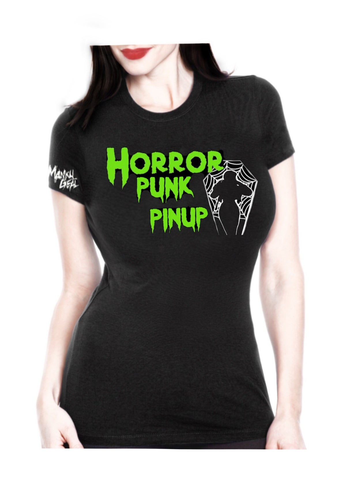 Image of Horror Punk Pinup Womens Tee