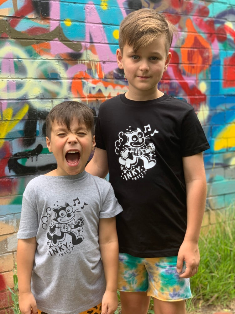 Image of Black Inky Kids Tee