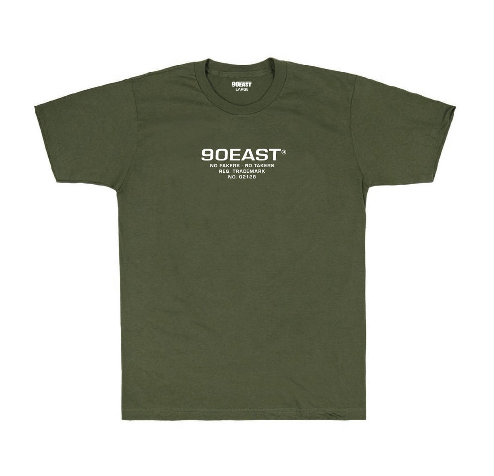 Image of 90East BDU Tee - Olive Green