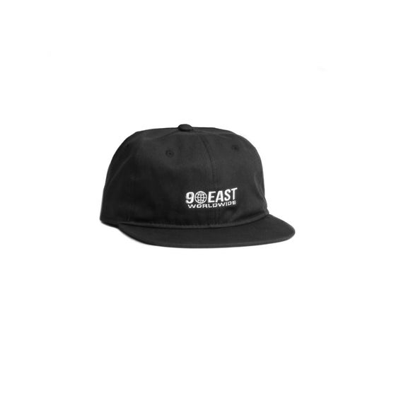 Image of 90East Global Unstructured Cap - Black