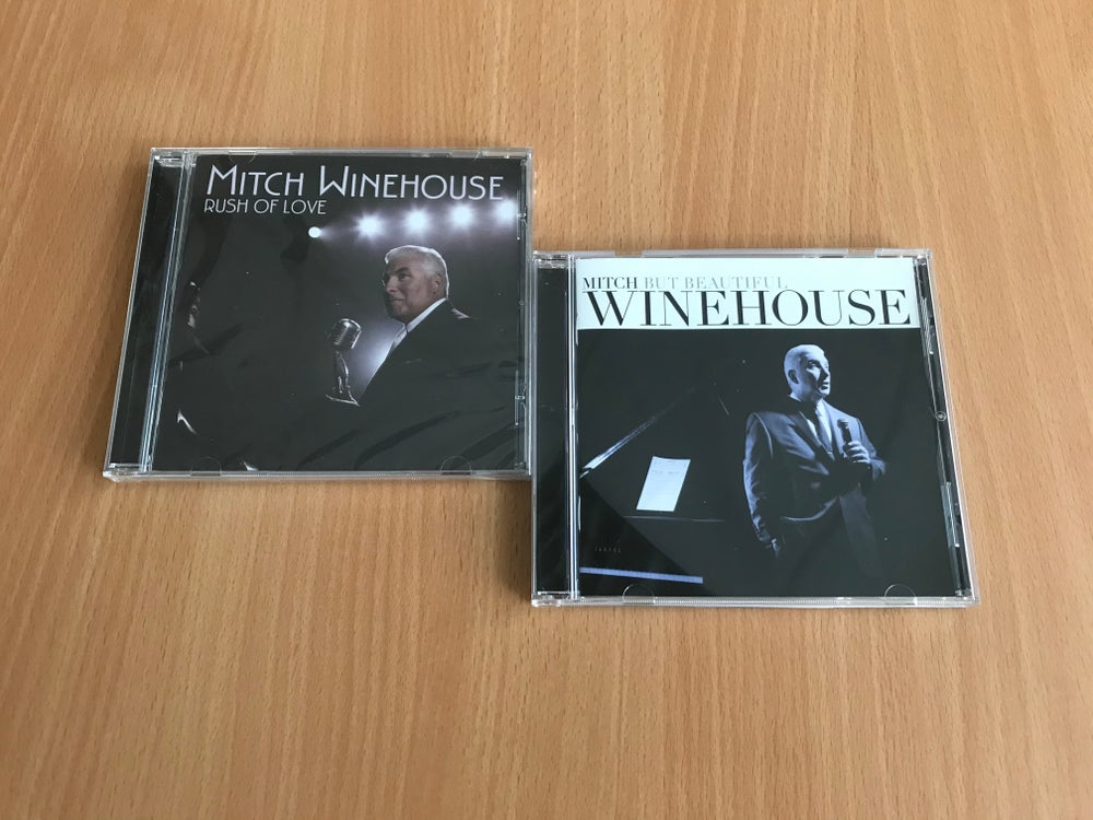 """Image of Mitch Winehouse """"Rush of Love"""" and """"But Beautiful"""" CD duo - limited number available"""