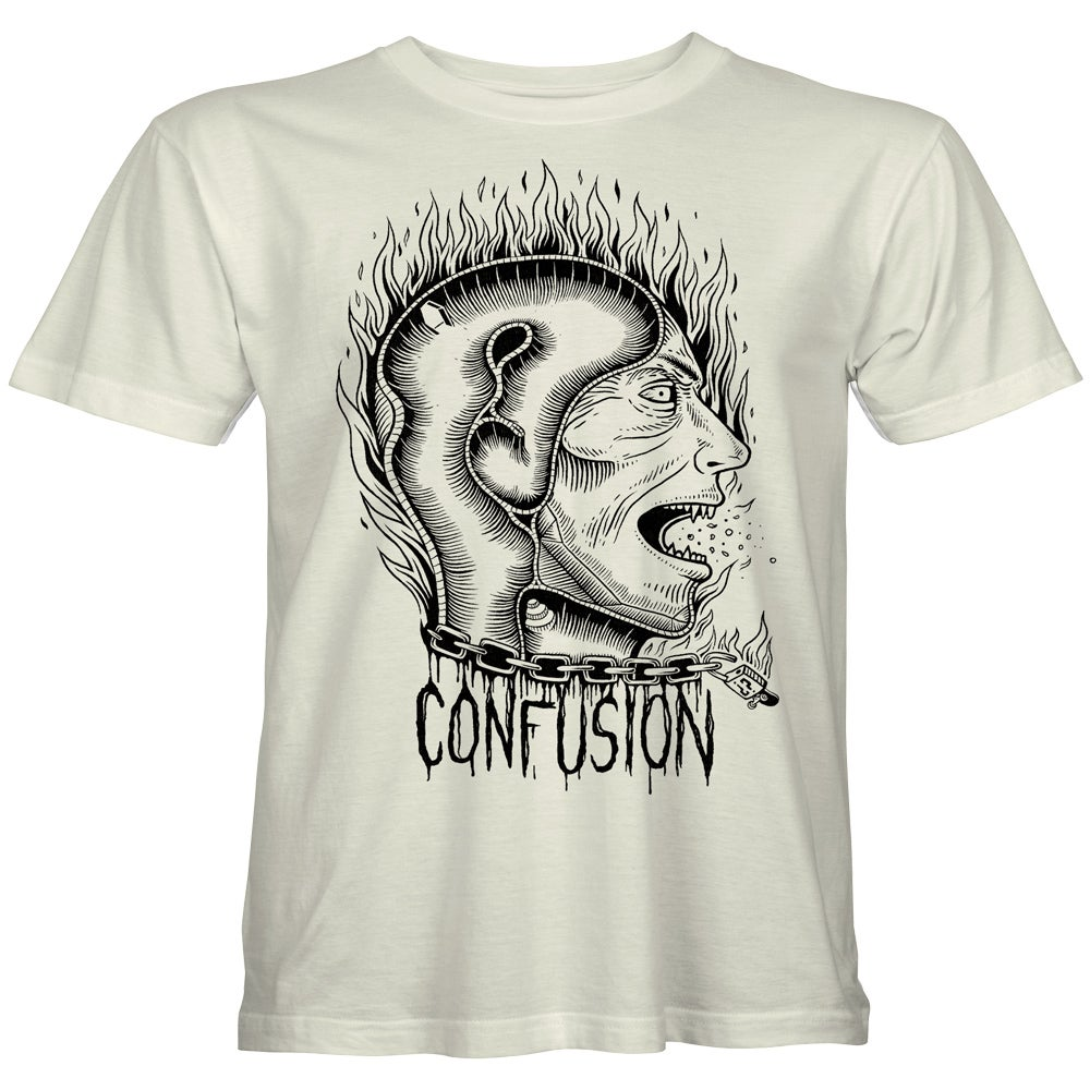 "Image of Confusion - ""Transitional Thoughts"" t-shirt [natural]"