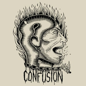 """Image of Confusion - """"Transitional Thoughts"""" t-shirt [natural]"""