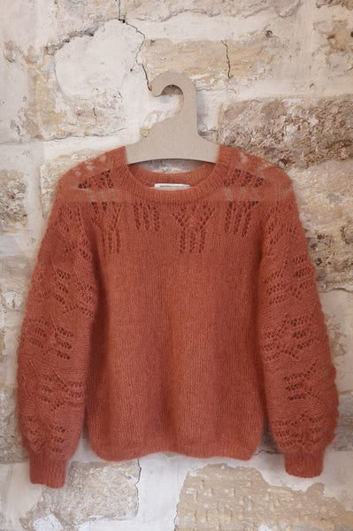 Image of -- PATRON/PATTERN : SALOME SWEATER --