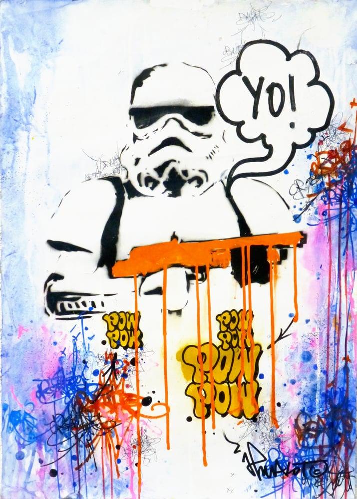 Image of YO! STAR WARS POW TROOPER