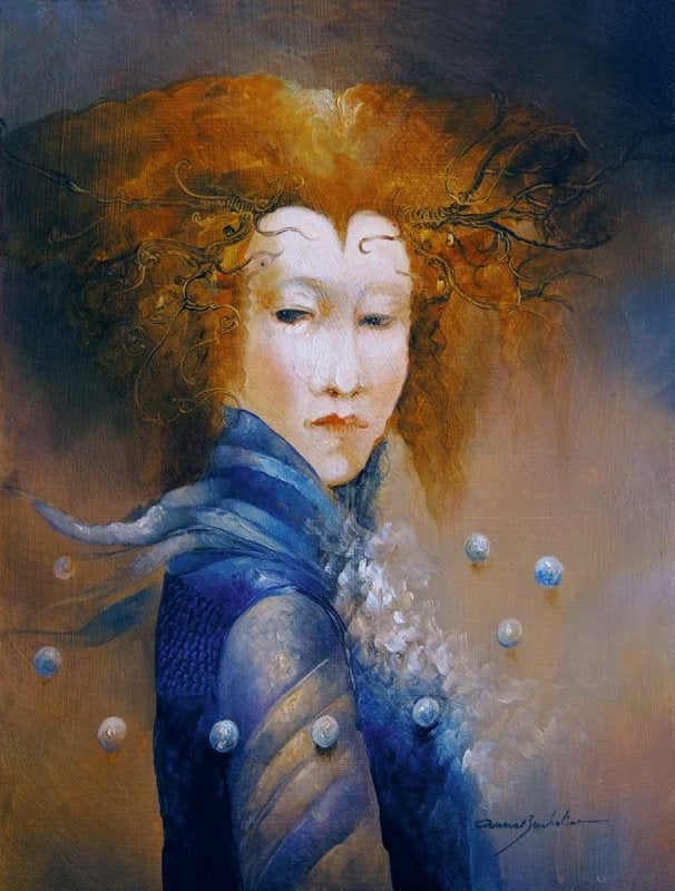 Image of ANNE BACHELIER - 'BRUMES' - ORIGINAL OIL PAINTING