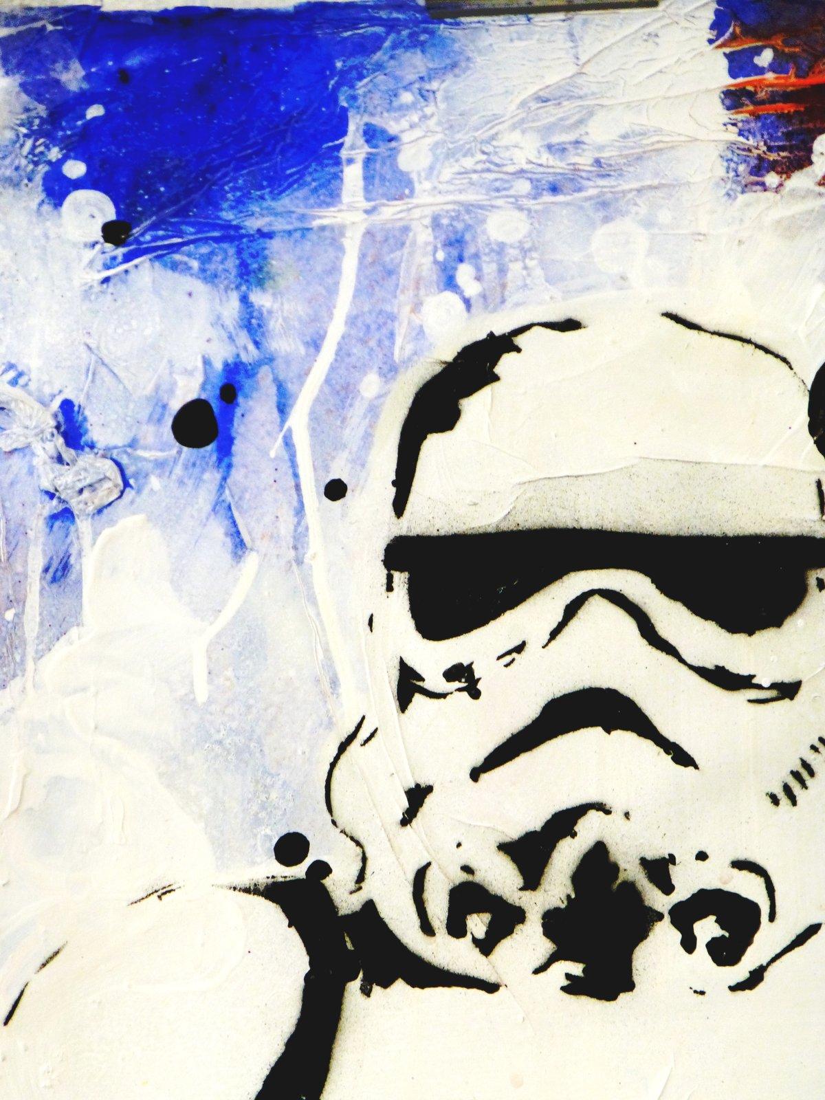 Image of ''YO!' STAR WARS POW TROOPER''