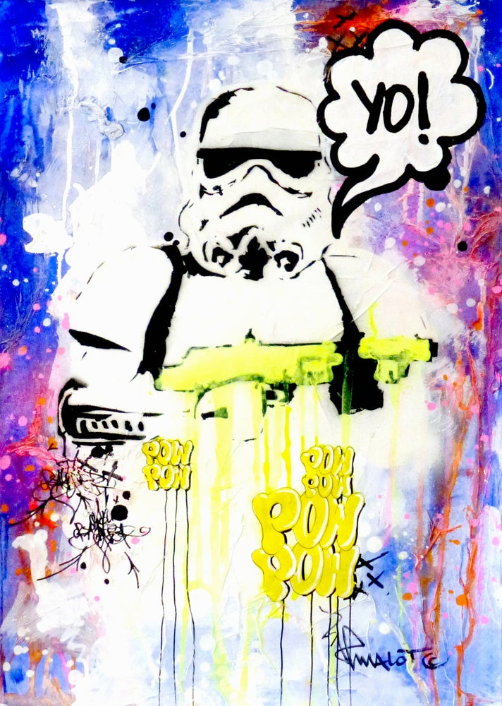 Image of ''YO!' STAR WARS POW TROOPER''