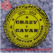 Image of 45th ANNIVERSARY PIN BADGE - LAST FEW REMAINING!