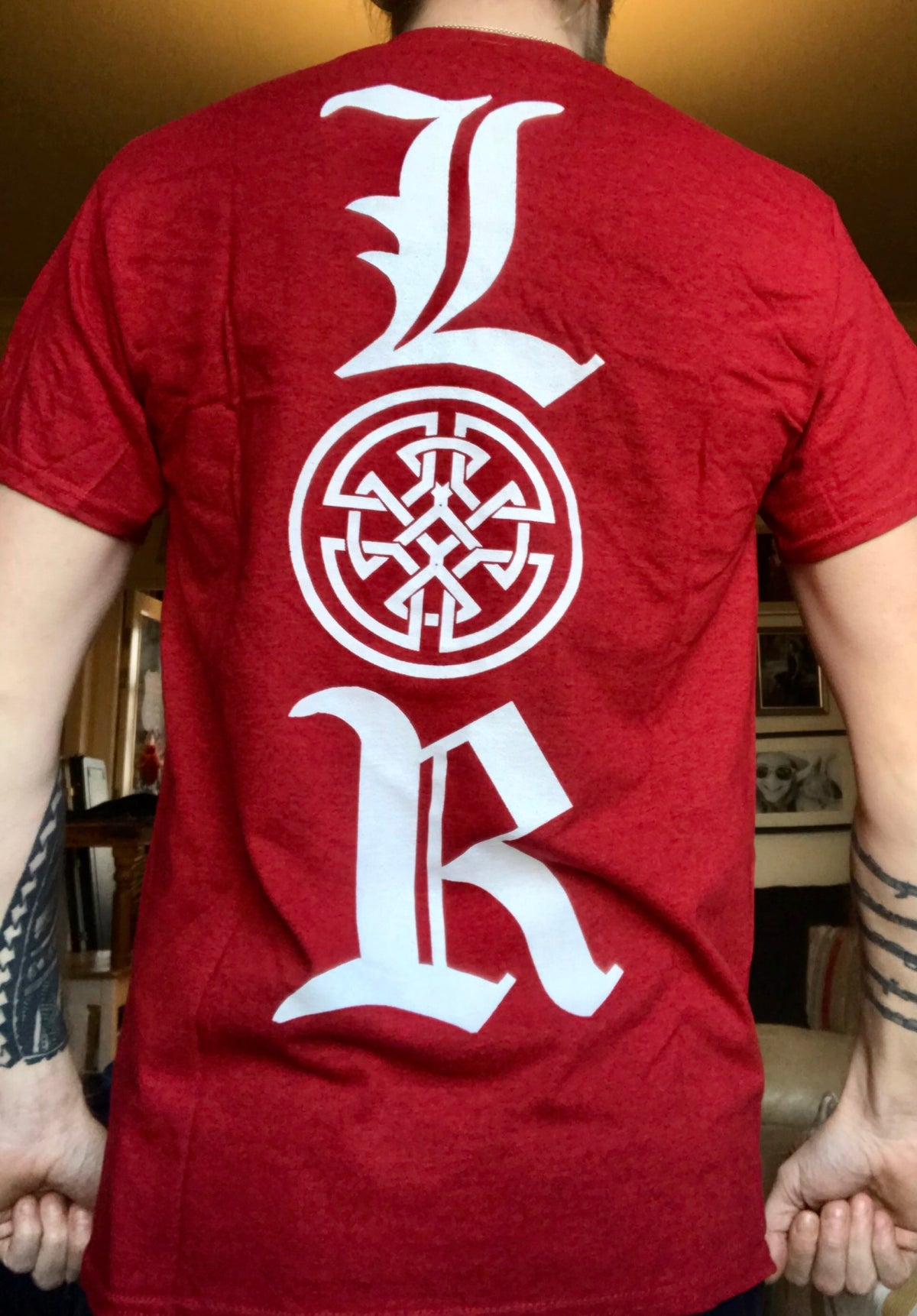 Lords of Ruin Antique Cherry T-Shirt