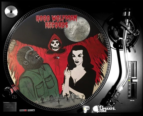 Image of Hobo Wolfman Records Slipmat