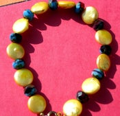 Image of Creamy Coin Pearl Bracelet