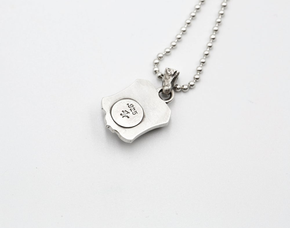 Image of Hand & Flower Necklace