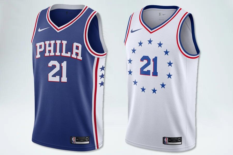 Image of Swingman Philadelphia 76ers  Icon Edition Jersey