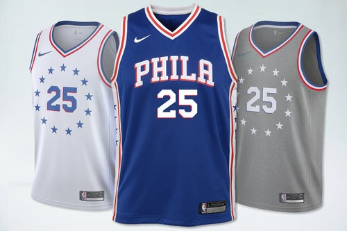 Image of Swingman Philadelphia 76ers  Icon Edition Jersey