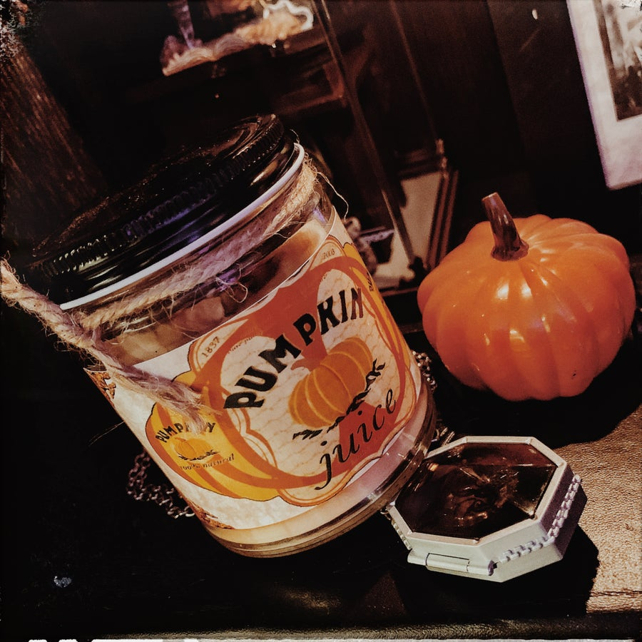 Image of Pumpkin Juice Harry Potter Candle