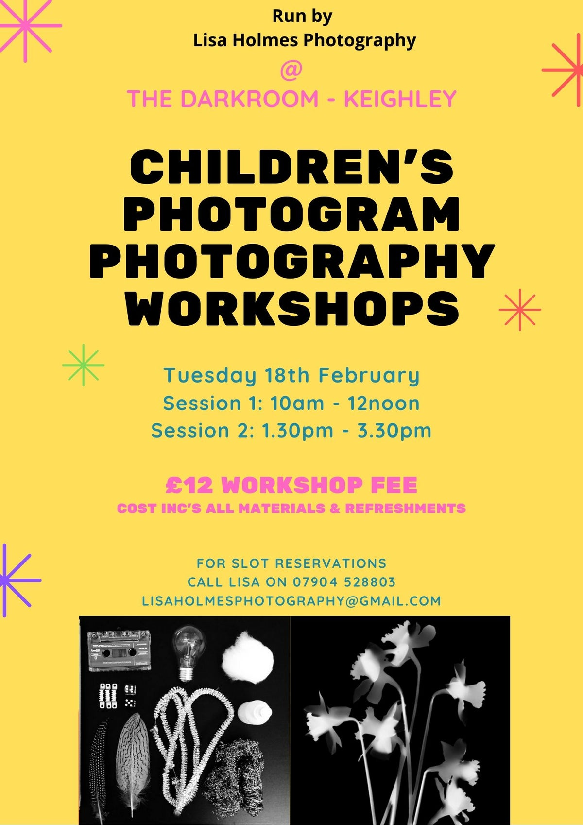 Image of Children's Photogram Workshop