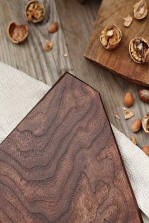 Image of Walnut serving board, charcuterie or cheese serving board