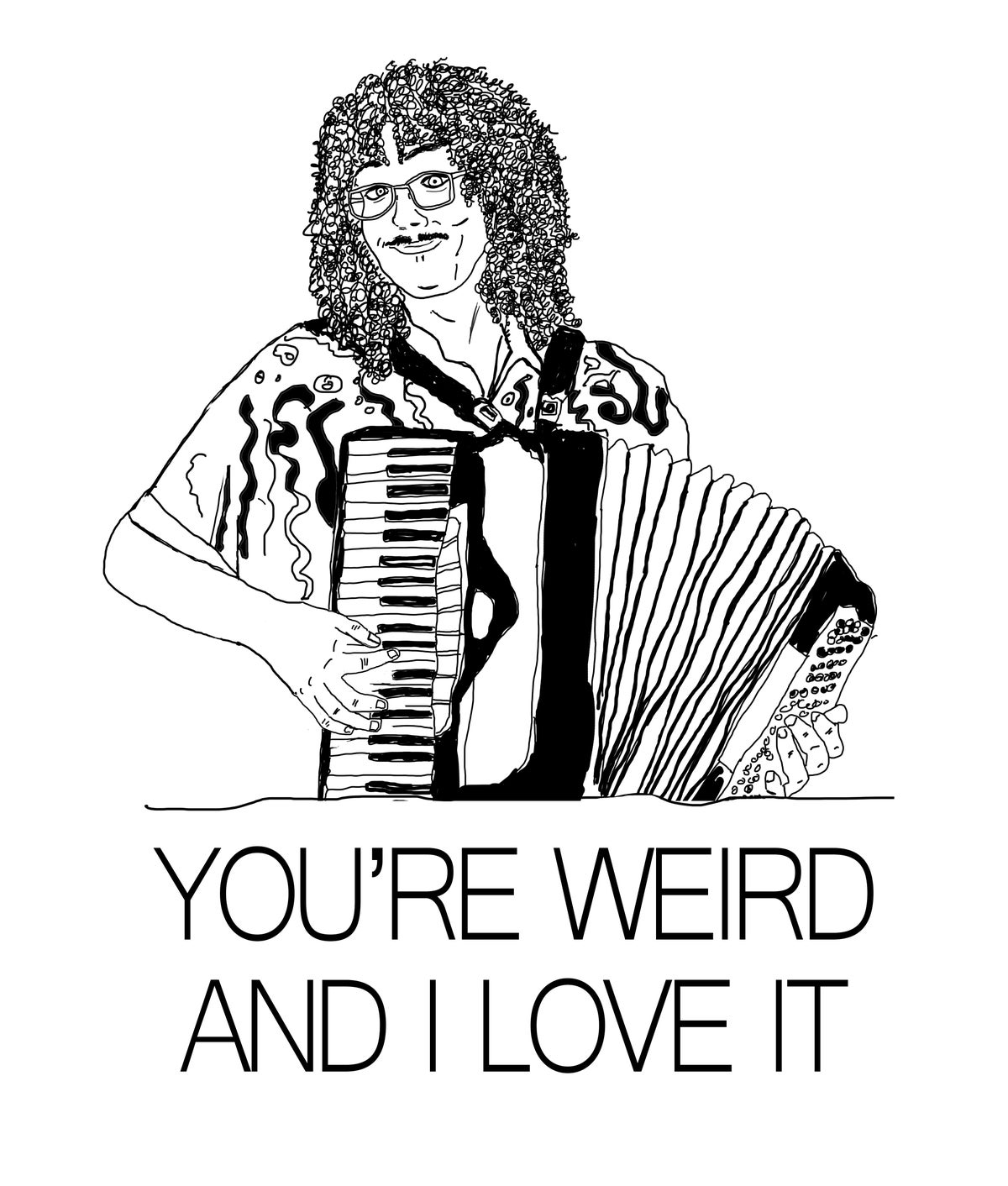 Image of Weird Al Card