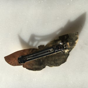 Image of moth barrette I