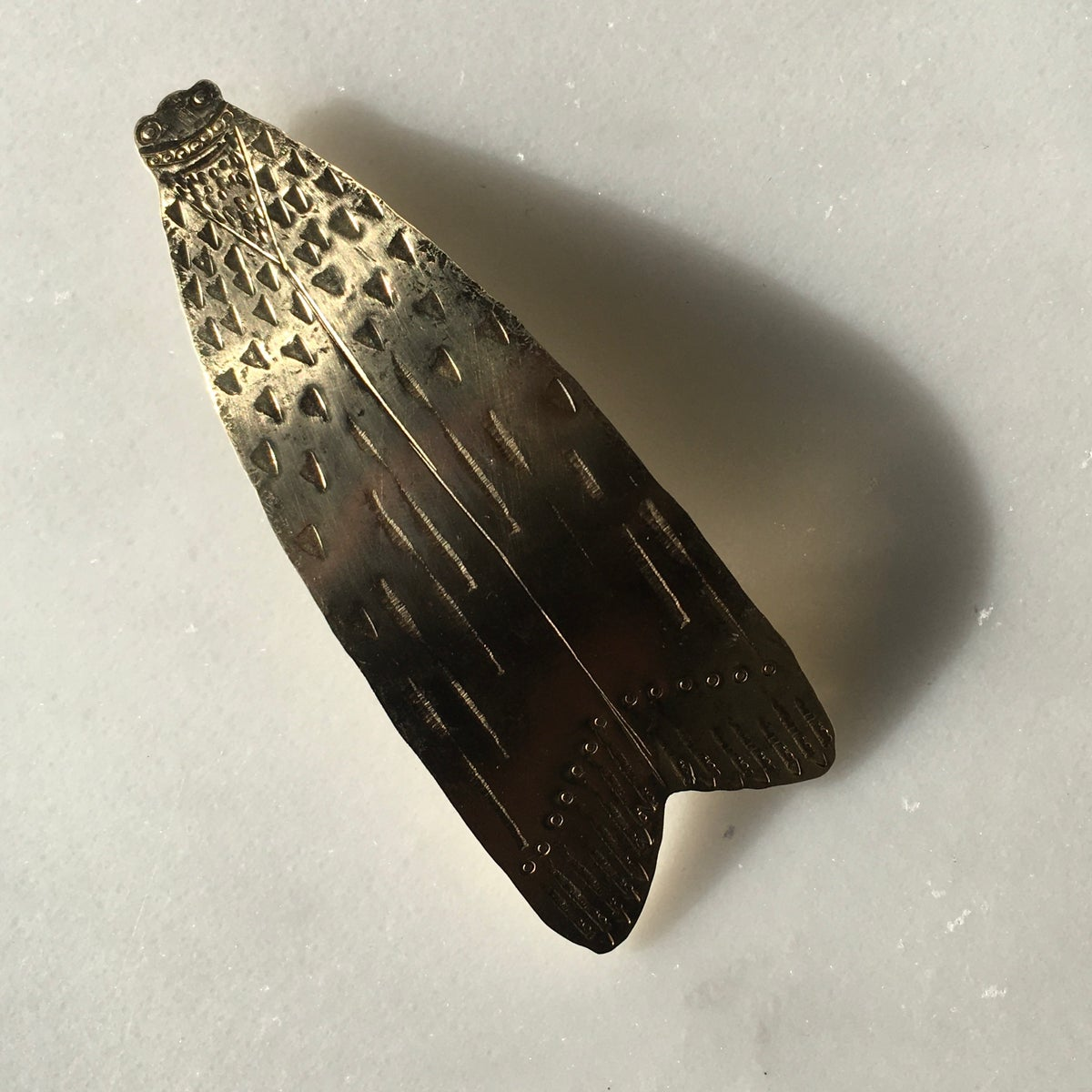 Image of moth barrette II