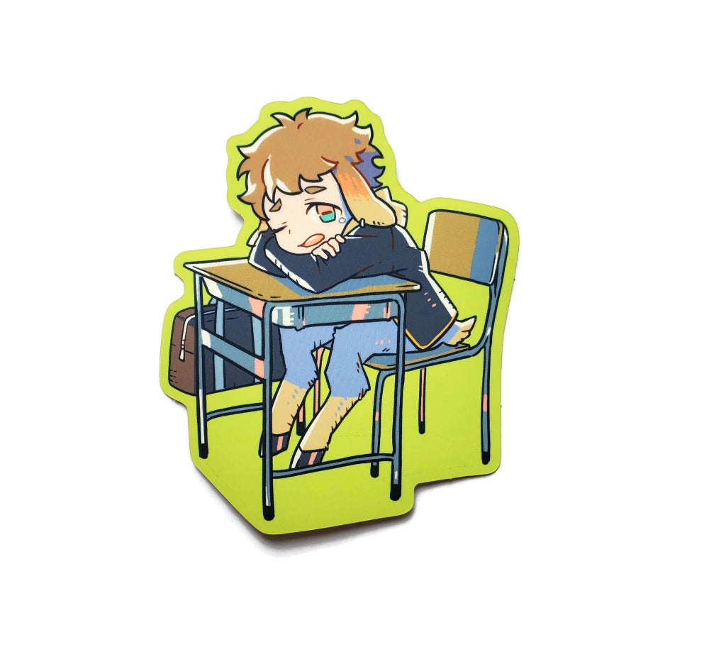 Image of Satyr Student Sticker