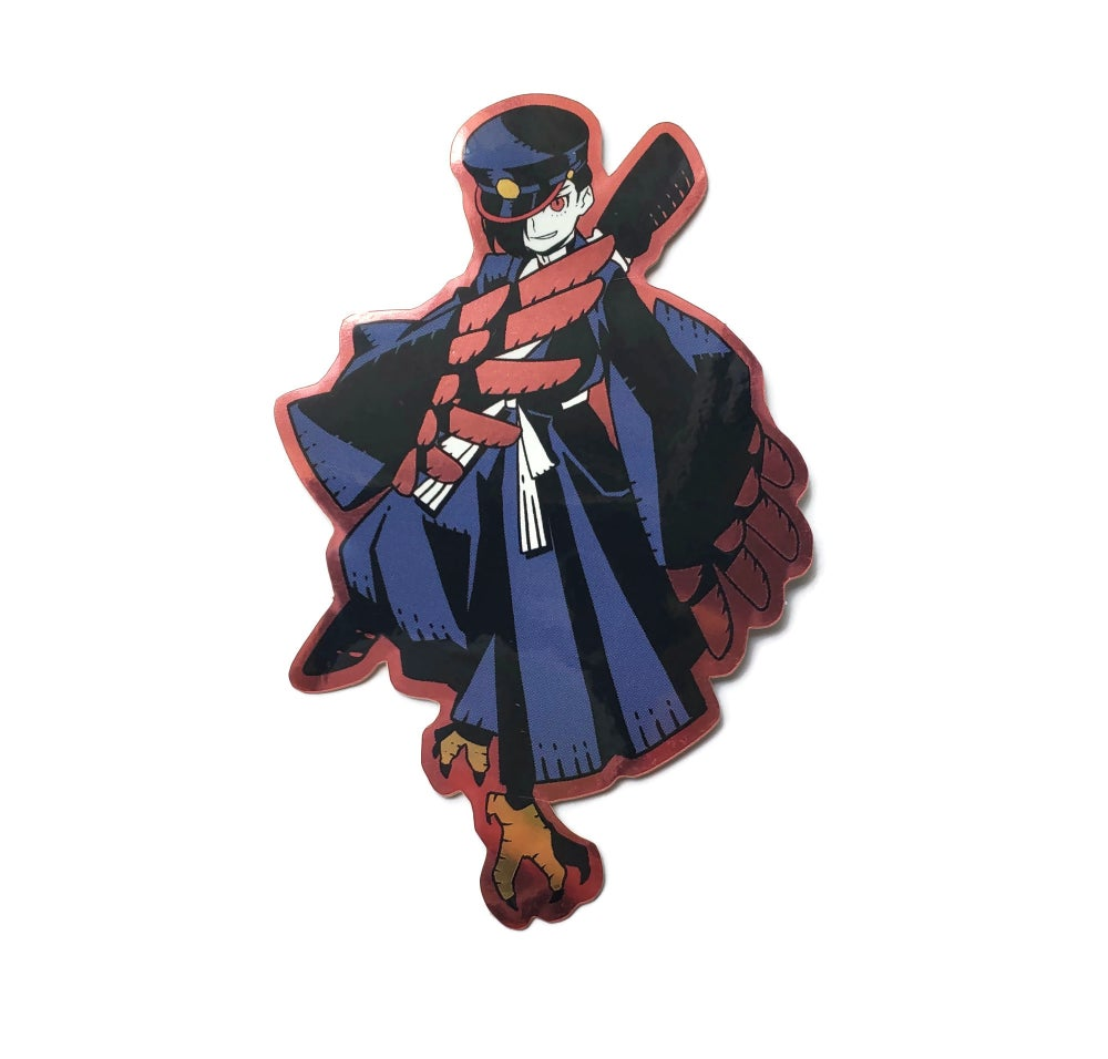 Image of Crow Gakuran Sticker