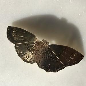 Image of moth barrette III