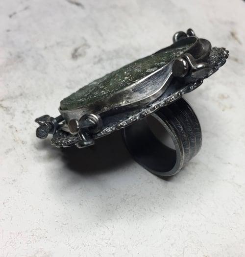 Image of Genuine Roman Glass Statement Ring
