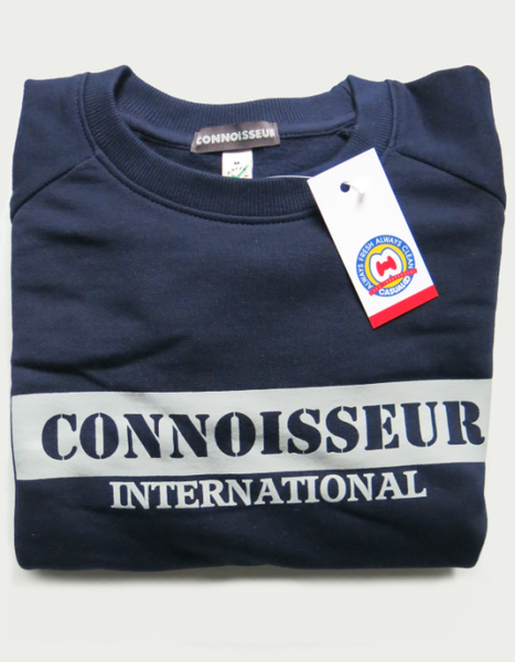 Image of 'CONNOISSEUR INTERNATIONAL' SWEATSHIRT