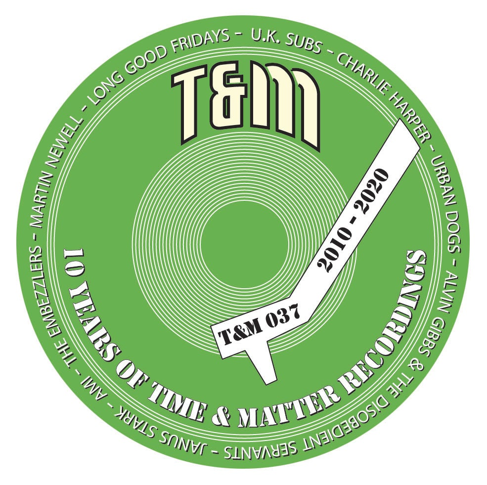T&M 037 - Time & Matter 10th Anniversary Badges