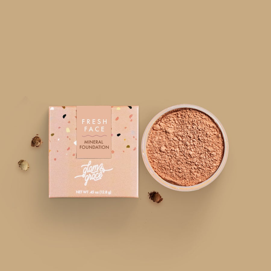 Image of FRESH FACE Mineral Foundation Powder - Tan 03N
