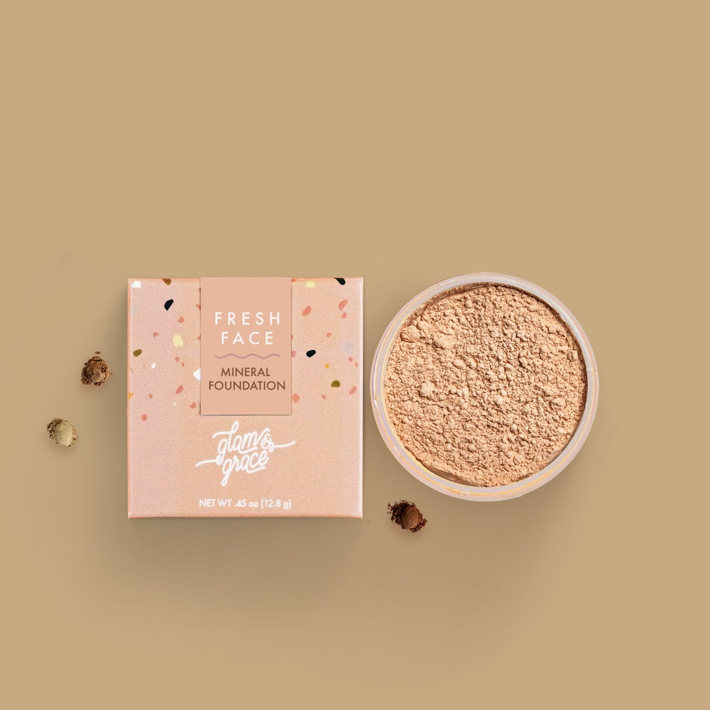 Image of FRESH FACE Mineral Foundation Powder -Beige 02W